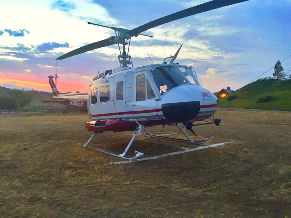 S.C.O.R.E. International Rescue Helicopter
