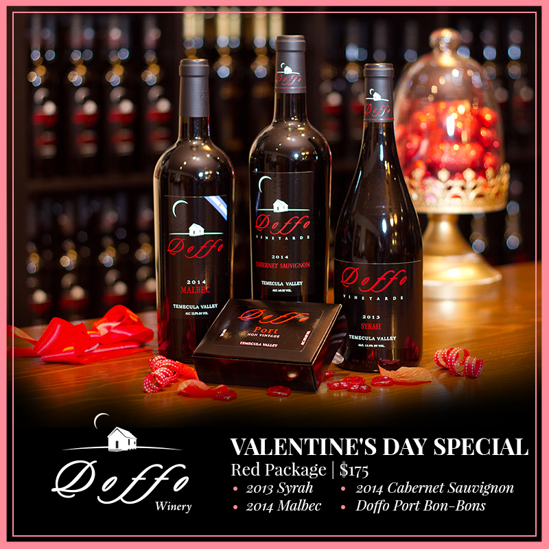 valentine's day packages available - doffo wines, Ideas